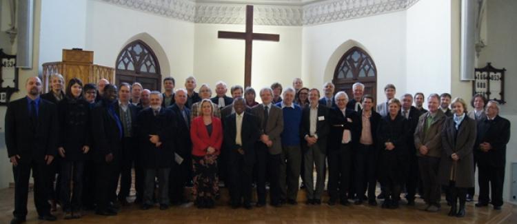 Przedstawiciele Kościołów reformowanych w Warszawie