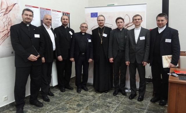 """Spotkanie grupy roboczej """"Pojednanie w Europie ? zadanie Kosciolow na Ukrainie, Bialorusi, w Polsce i w Niemczech"""", Minsk"""