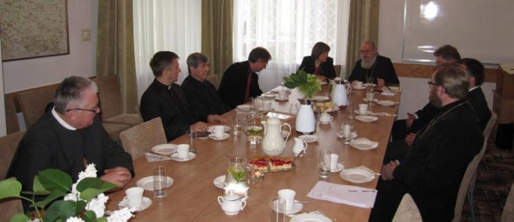 Spotkanie z przedstawicielami Kościoła Westfalii
