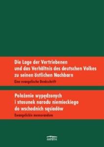 Położenie wypędzonych i stosunek narodu niemieckiego do wschodnich sąsiadów. Ewangelickie memorandum