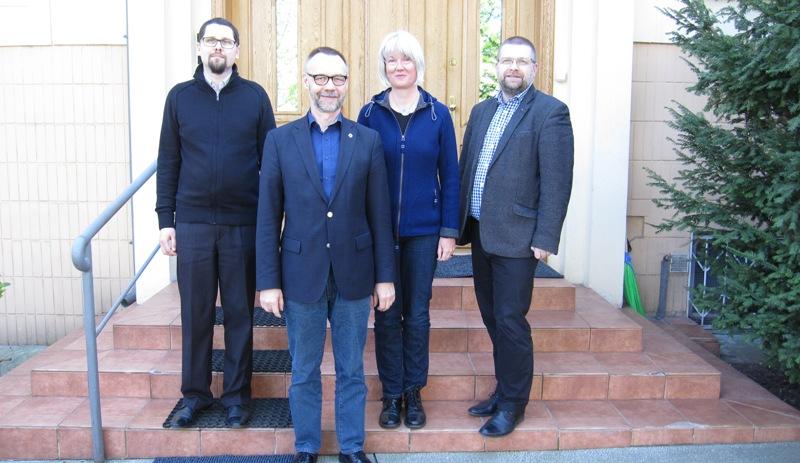 Spotkanie robocze w ramach partnerstwa Polskiej Rady Ekumenicznje z Kosciolem Ewangelickim Wesfalii, Warszawa