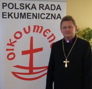 Bp Jerzy Samiec, nowy prezes Polskiej Rady Ekumenicznej