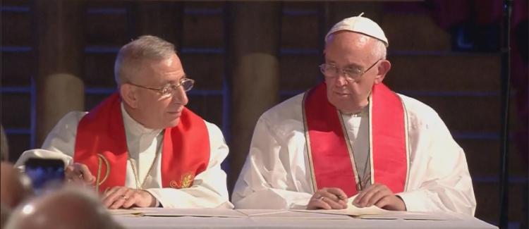 Papież z luteranami w rocznicę reformacji