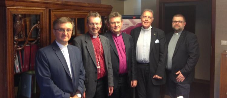 Spotkanie z anglikanami