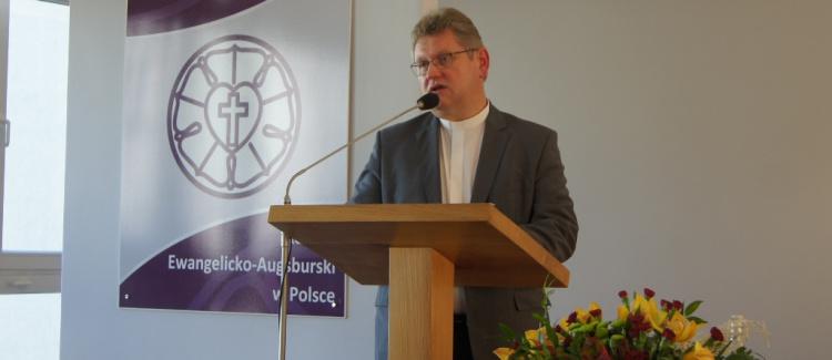 Jerzy Samiec ponownie biskupem Kościoła