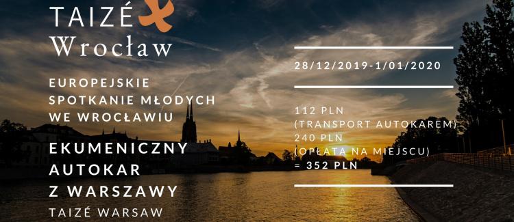 Transport na Europejskie Spotkanie Młodych we Wrocławiu