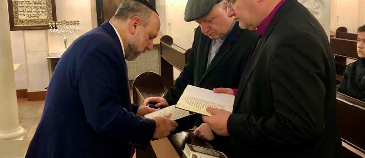Wspólna modlitwa Żydów i chrześcijan