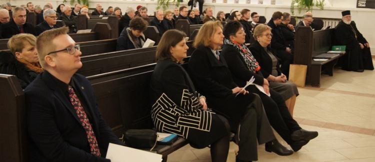 Dziękczynne nabożeństwo Towarzystwa Biblijnego