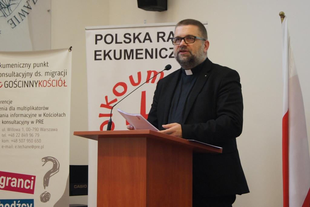 Dyrektor PRE ks. Grzegorz Giemza