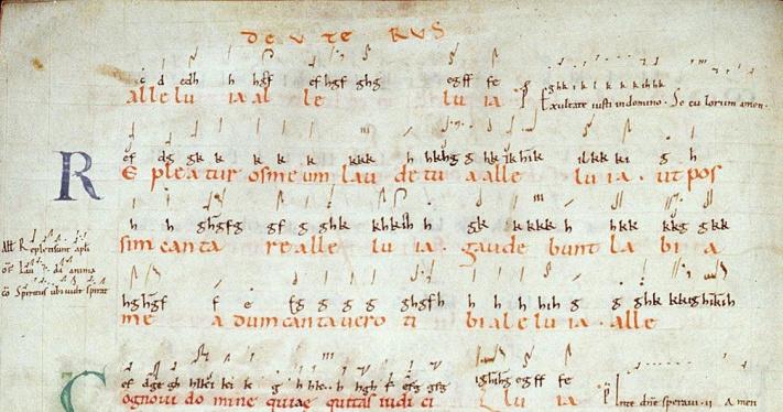 Wykład o chorale gregoriańskim